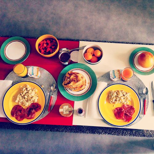 朝食でのカロリーの摂り過ぎに注意