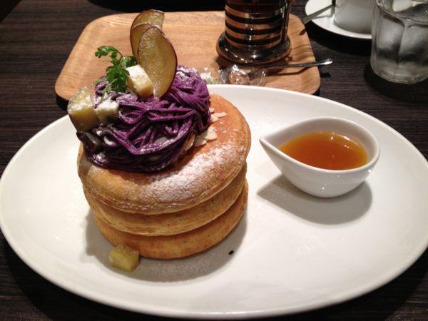 東京のヘルシーパンケーキ店⑧: ミクロコスモス(MICROCOSMOS)【渋谷】