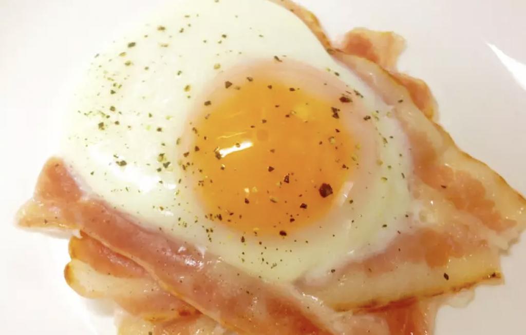 ダイエットでNG朝食②「ベーコン&エッグ」(ハム、ソーセージも)