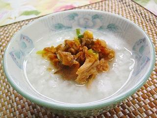 豚ヒレ肉+おかゆ アレンジレシピ