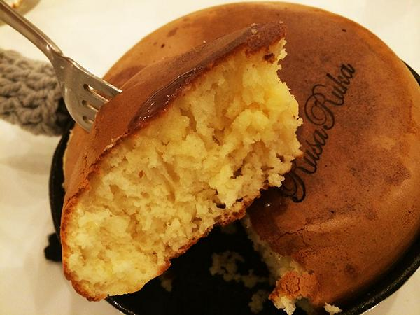 「ぐりとぐらのホットケーキ」が名物