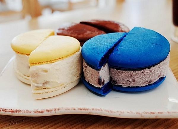 韓国&NYでは『マカロンアイス』なるものが流行中です!