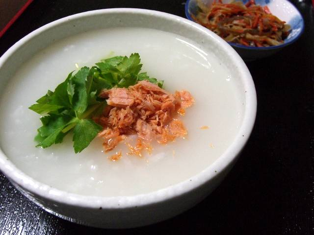 鮭+おかゆ アレンジレシピ