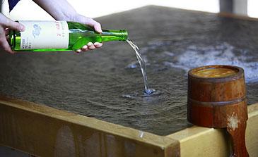 日本酒風呂のやり方