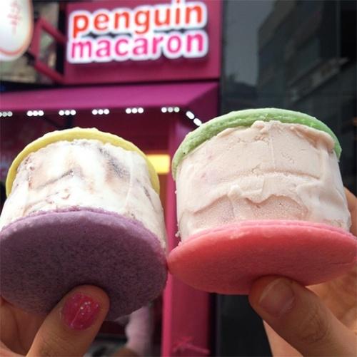 ペンギンマカロン【韓国・ソウル】