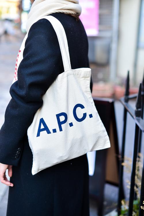 『A.P.C』のトートバッグが欲しい…!