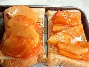 柿トースト