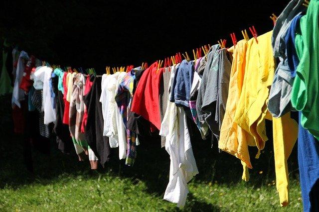 こまめに洗濯しましょう