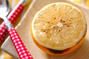「焼きグレープフルーツ」の作り方