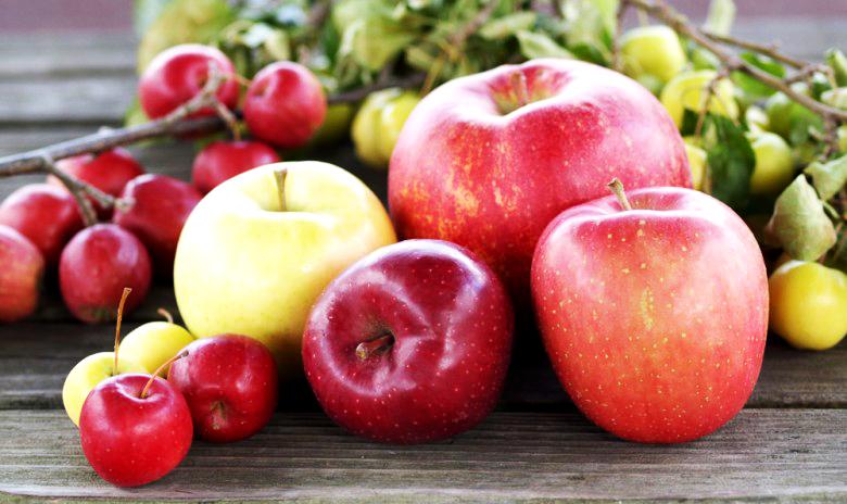 ダイエット効果のあるフルーツ ③りんご