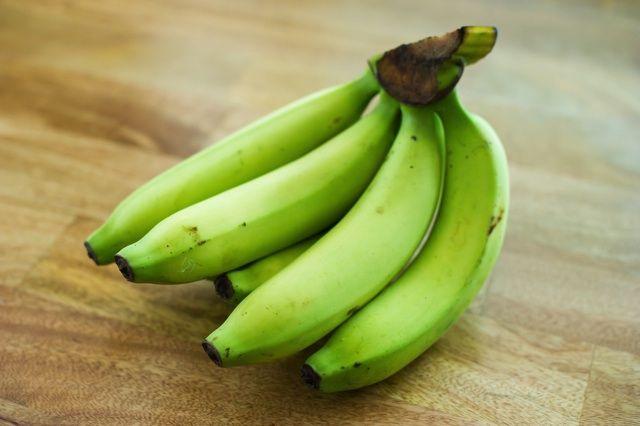 黄色いバナナより、青いバナナの方が適しています!