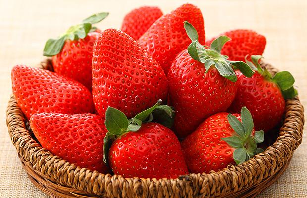 美肌効果のあるフルーツ イチゴ