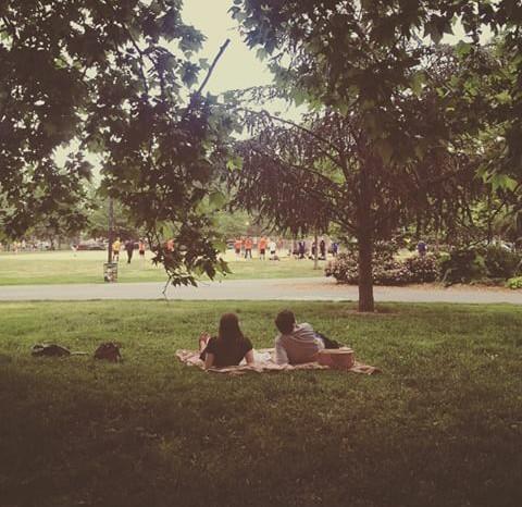 休日は公園へ♩