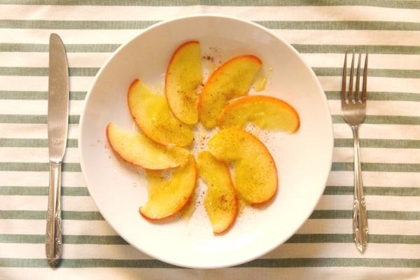 「ココナッツりんご」の作り方を紹介♩