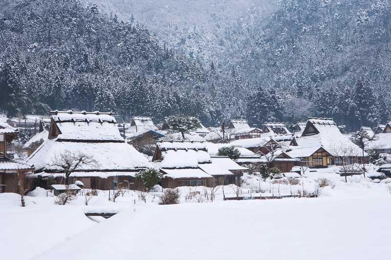 美山かやぶきの里《京都》