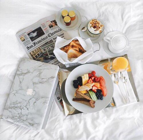 きちんと朝食を食べてる?