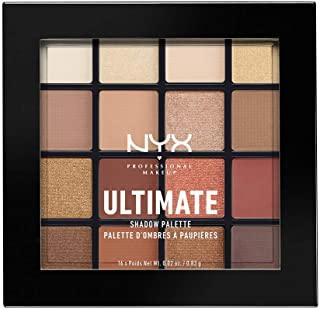 NYX Professional Makeup UT シャドウ パレット 03 カラー・ウォーム ニュートラル ブラウン系 アイシャドウ